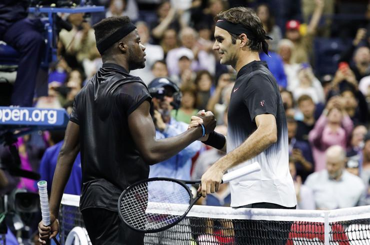 Frensis Tijafo, Rodžer Federer