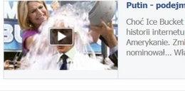 Ice Bucket Challenge w wykonaniu Władimira Putina