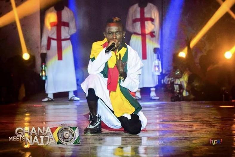 Patapaa performs at Ghana Meets Naija