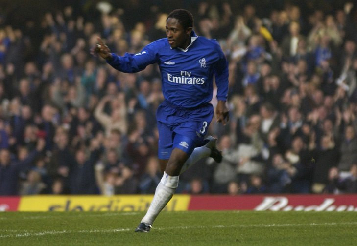 Celestine Babayaro joined Chelsea as a teenager and played several years for them
