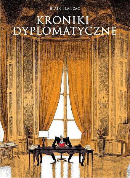 """""""Kroniki dyplomatyczne"""" (okładka)"""