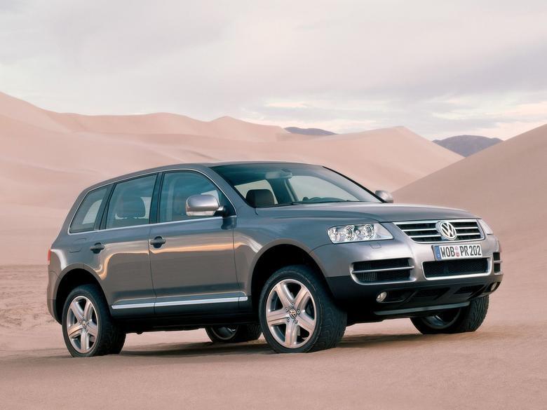 Volkswagen Touareg - pierwsza generacja