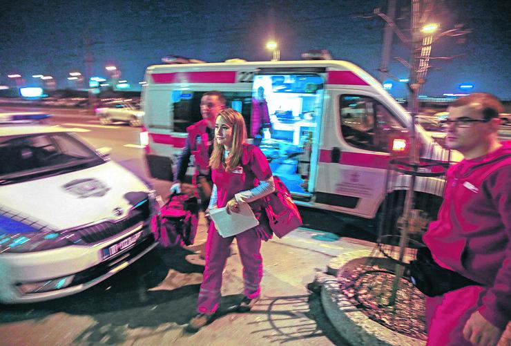 Jedan pacijent je prebačen u urgentni centar