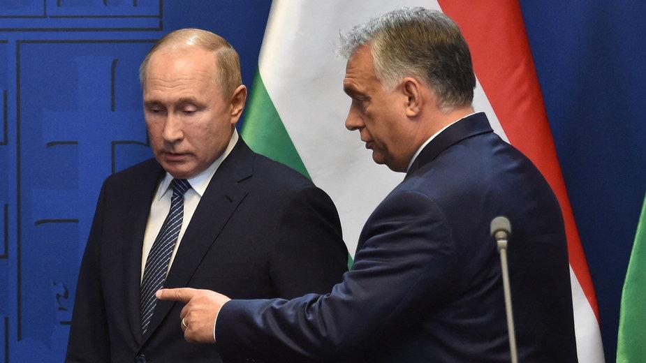 Władimir Putin i Viktor Orban, zdjęcie z 2019 r.