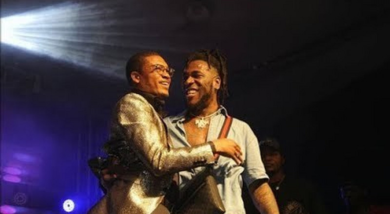 Burna Boy narrates how Shina Peller made him record  'Ye' in the club [Video]