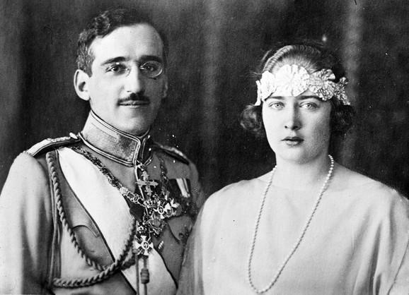 Kralj Aleksandar I i kraljica Marija Karađorđević