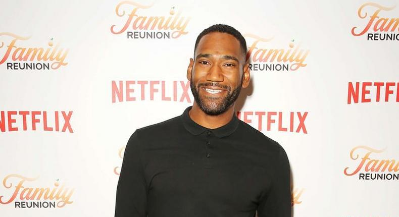 Nigerian-American Anthony Alabi plays the lead male role on Netflix's 'Family Reunion' (meaww)