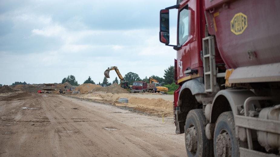Kierowcy napotkają utrudnienia na DK71 w Rąbieniu