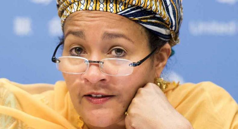 Amina Mohammed, Deputy Secretary Gen of the UN
