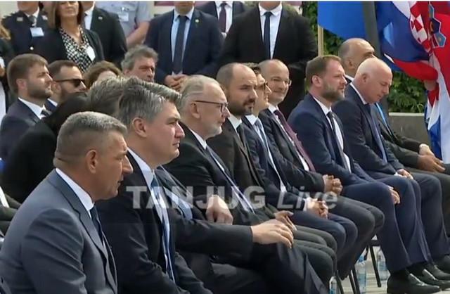Ante Gotovina pored Zorana Milanovića