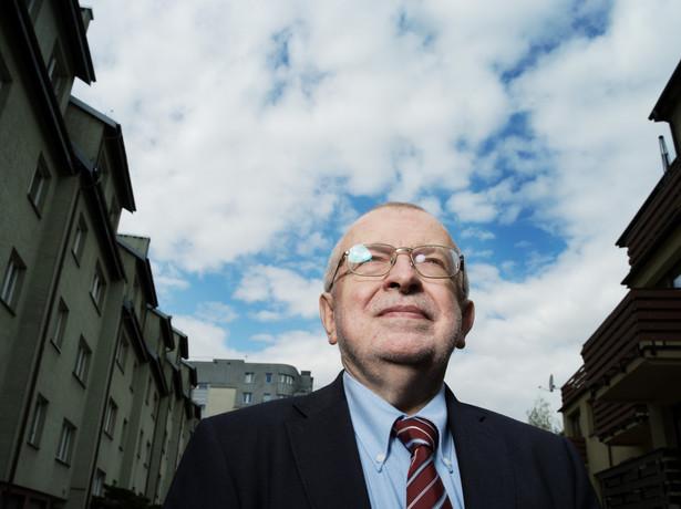 Zbigniew Lewicki, politolog, wykladowca uniwersytecki, Fot. Darek Golik