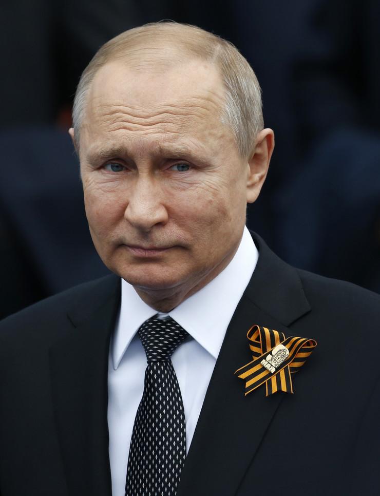 Vojna parada, Rusija, Moskva, Vladimir Putin