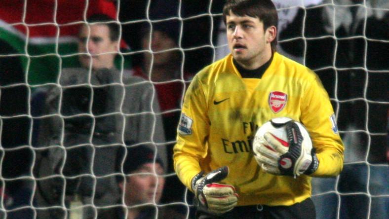 90. minut Fabiańskiego w bramce Arsenalu