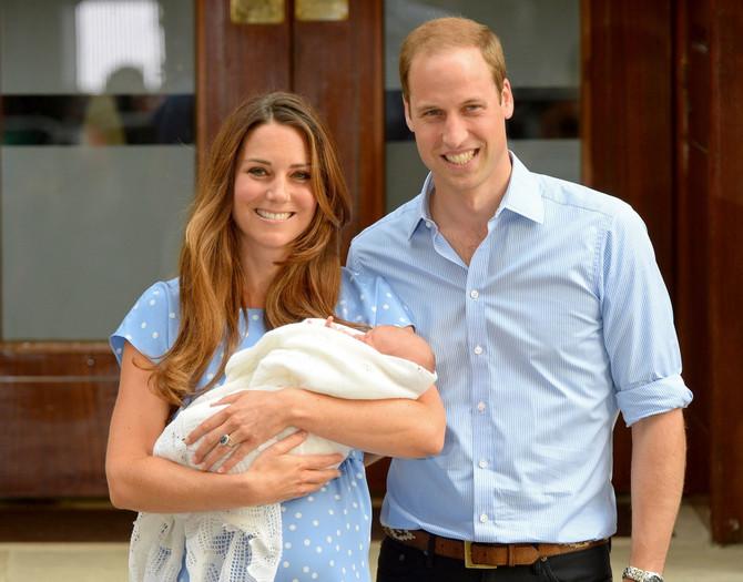Kejt Midlton sa sinom princom Džordžem i suprugom Vilijamom