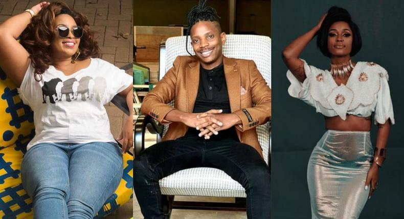 Sheila Mwanyigha, Eric Omondi and Vanessa Mdee