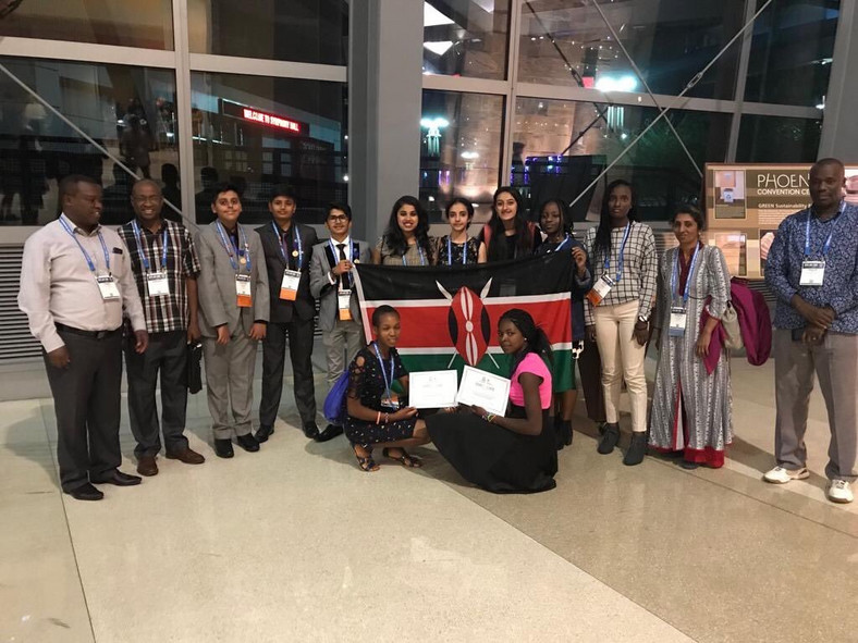 Peter Tabichi's students win big in the US