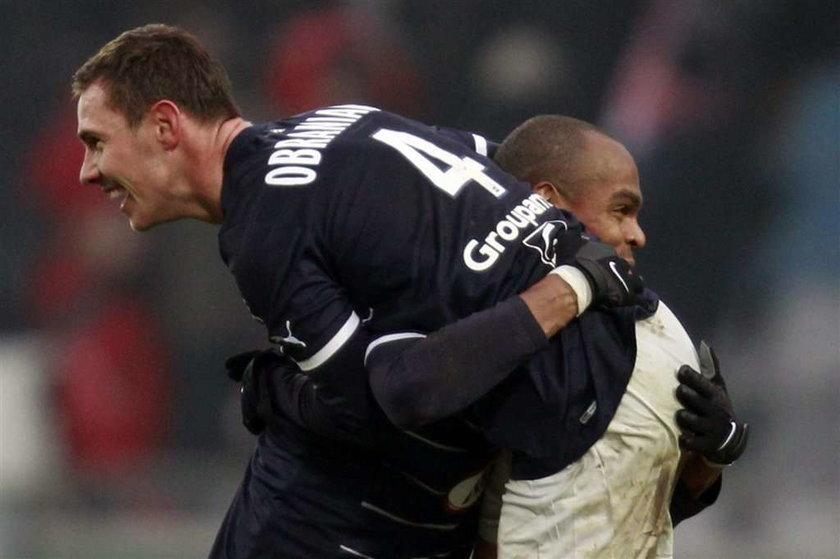 Ludovic Obraniak strzelił dwa gole dla Bordeaux w meczu z Lille, który klub Polaka wygrał 5:4
