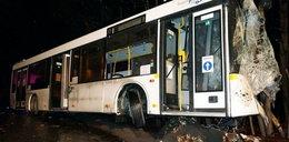 Wypadek autobusu w Zabrzu