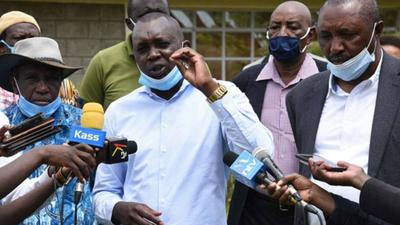Oscar Sudi reveals details of meeting with Nyanza leaders after raiding Raila's home turf