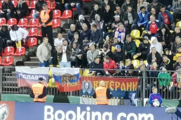 """SKANDIRANJE Na stadionu u Viljnusu odjekuje """"KOSOVO JE SRCE SRBIJE"""""""