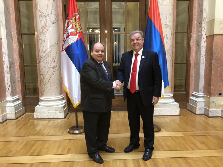 Seif Alah Režeb i Dragomir Karic Promo
