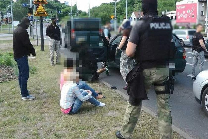Akcja policji w Bydgoszczy