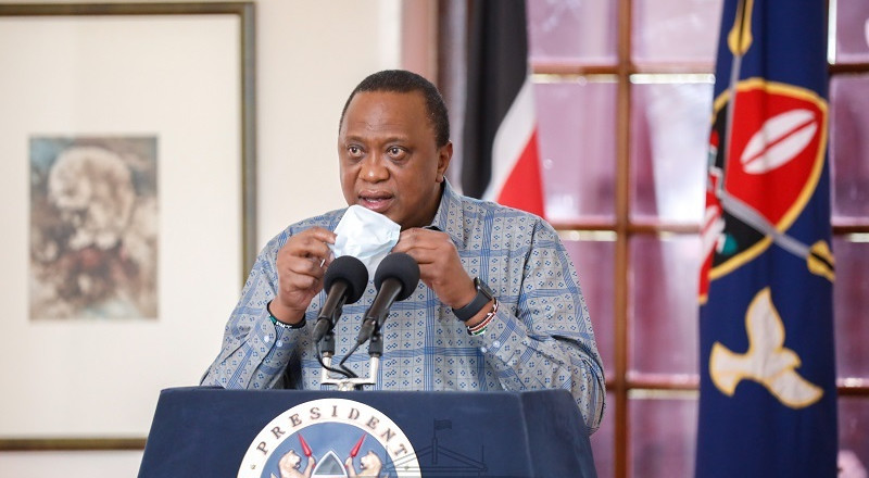 List of new orders by Uhuru