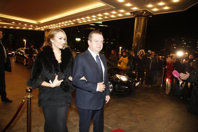 Ivica Dačić sa suprugom