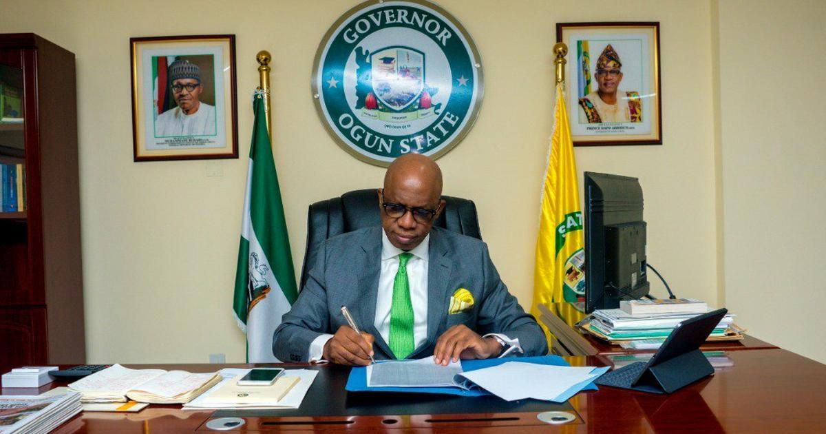 Gov. Abiodun sends list of 18 commissioner nominees to Ogun Assembly - Pulse Nigeria