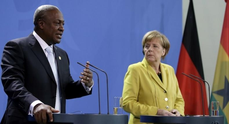 Mahama and Merkel to hold talks on global health crisis