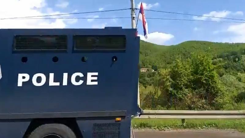 Koszovóban fokozódik a helyzet... / Fotó: Twitter