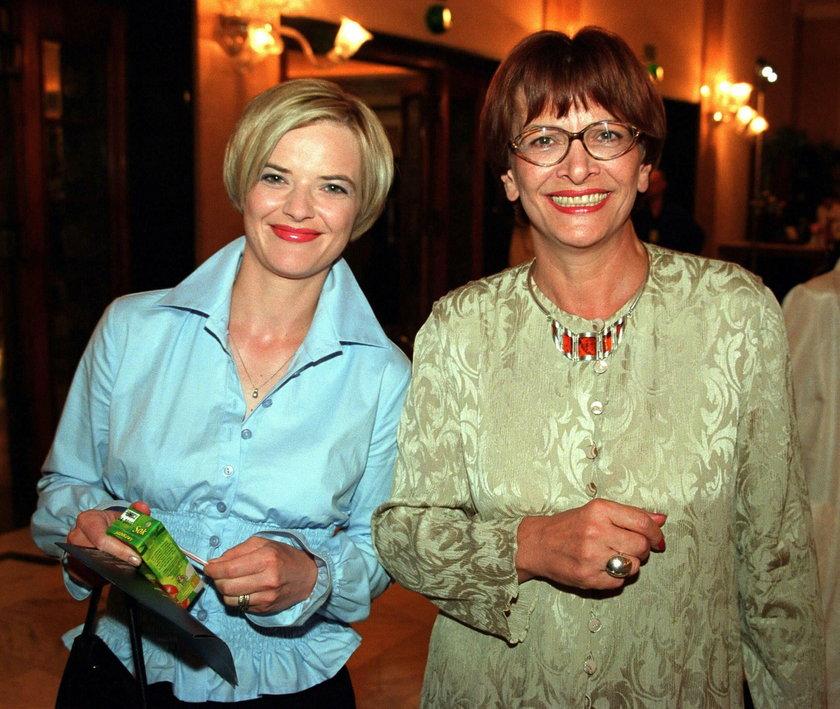 Monika Zamachowska z mamą