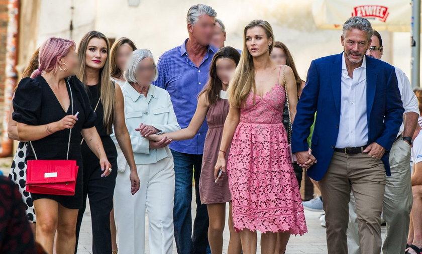 Spotkanie rodzinne przed ślubem Joanny Krupy i Douglasa Nunesa
