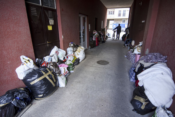 Novi Sad Radica Cvetanovic izbacena iz stana foto Nenad Mihajlovic 8