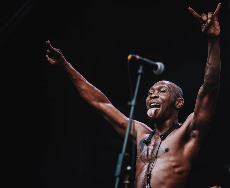 Seun Kuti says SARS brutality will continue because Nigerians believe it is a norm [Instagram/BigBirdKuti]