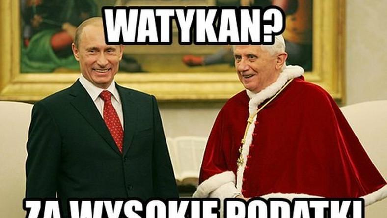 Internet z humorem zareagował na abdykację papieża