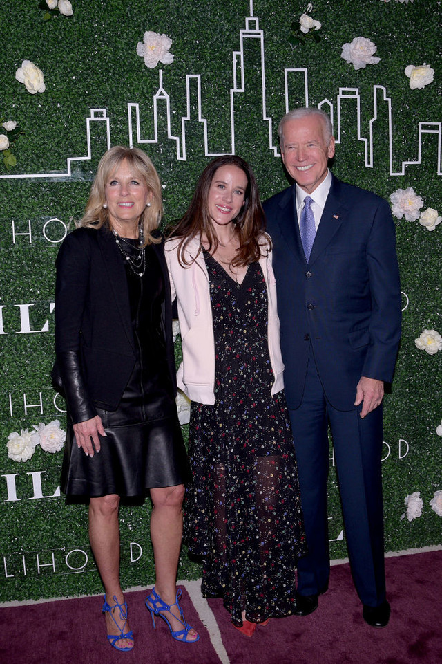 Joe i Jill Biden z córką Ashley