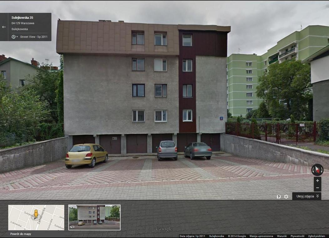 Siedziba organizatora BMW Półmaratonu Praskiego / fot. Google Street View