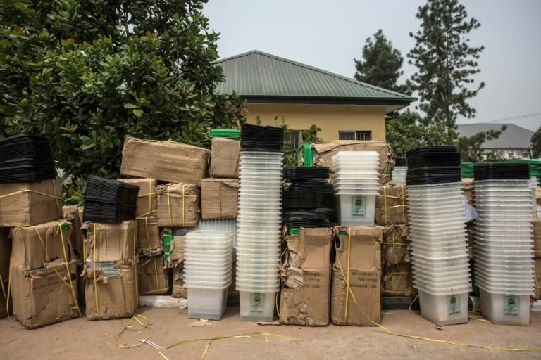 Election materials from INEC (Punch)