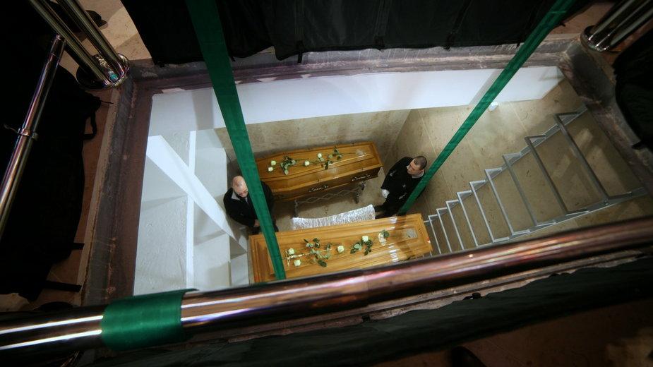 Biskup Adam Dyczkowski spoczął w krypcie w katedrze w Gorzowie Wielkopolskim