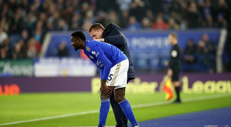 Leicester City boss Brendan Rodgers says he's keeping in touch with his Nigerian players Wilfred Ndidi and Kelechi Iheanacho during coronavirus crisis
