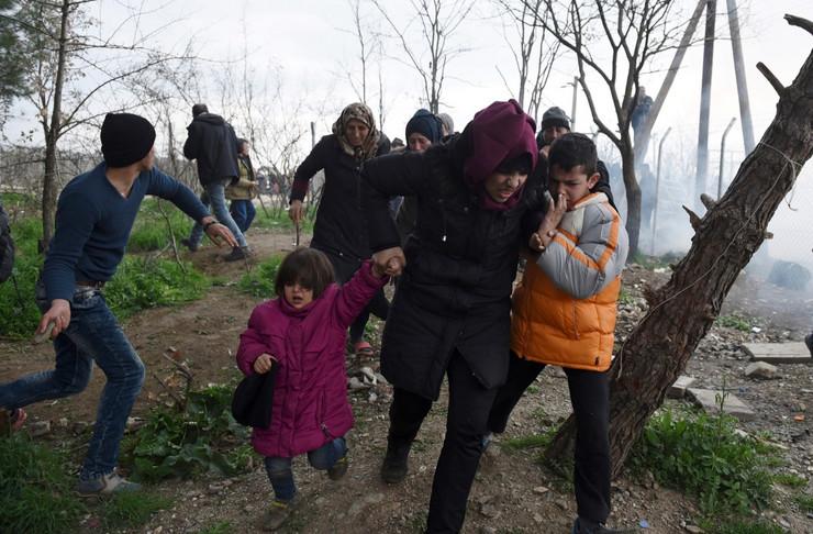 Migranti u Đevđeliji