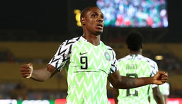 Odion Ighalo is done with the Super Eagles (Reuters)