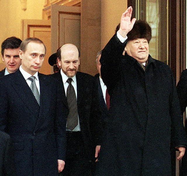 Vladimir Putin i Boris Jeljcin
