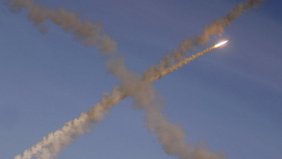 Atak celów wojskowych w pobliżu Damaszku