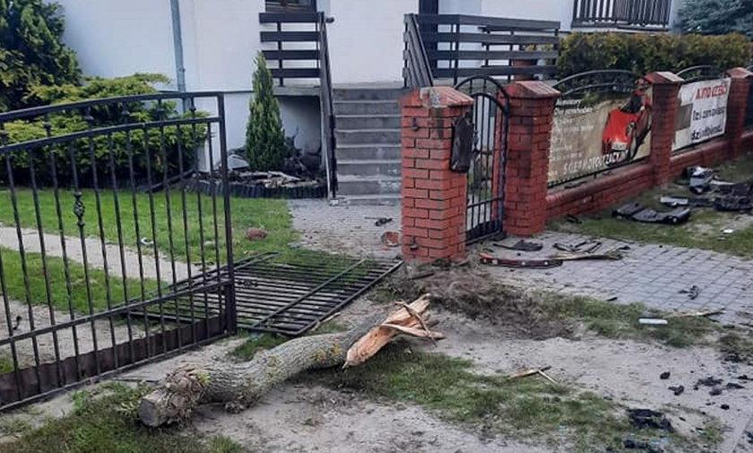 Tragiczny wypadek w miejscowości Pecna pod Poznaniem.