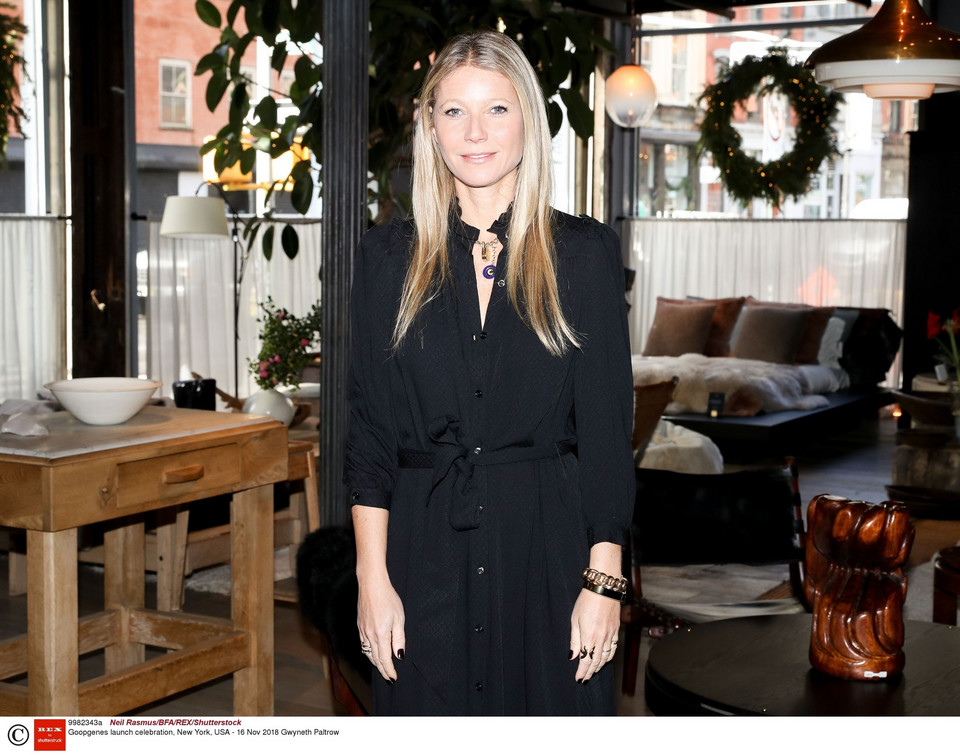 Gwyneth Paltrow: lunch Goopgenes w Nowym Jorku