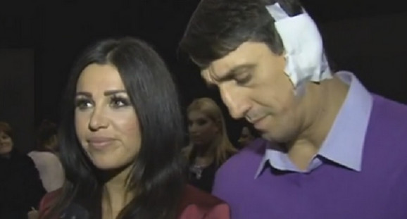 Stanija Dobrojević i Kristijan Golubović