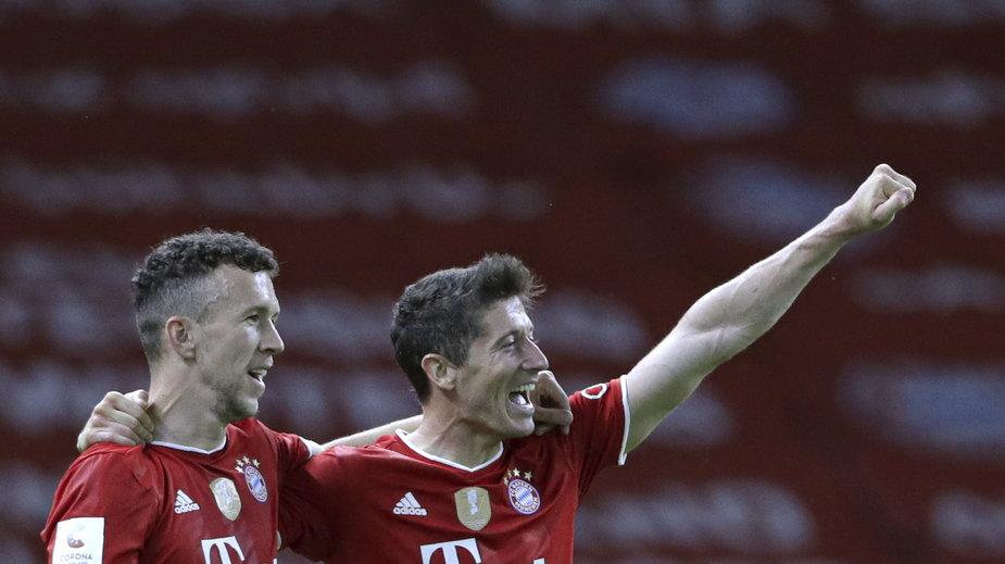 Ivan Perisić i Robert Lewandowski w Bayernie Monachium