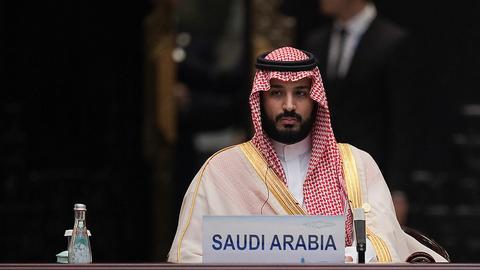 Książę i następca tronu Arabii Saudyjskiej Mohammed bin Salman